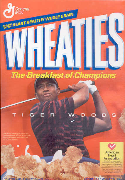 Wheaties Tiger Woods